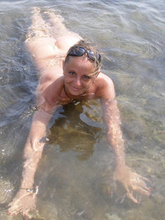 Откровения рьяной девушки на берегу моря