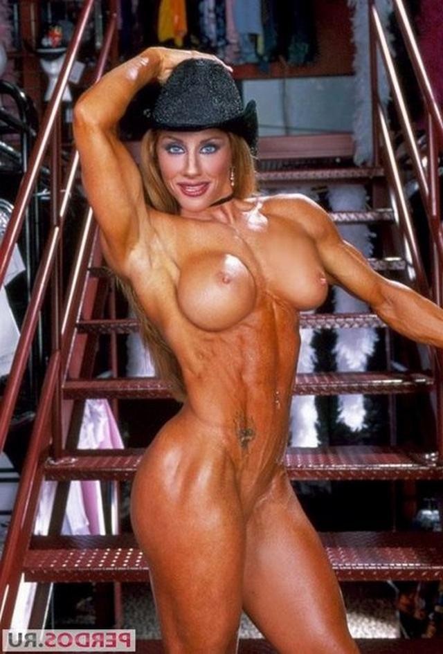 Подборка голых женщин бодибилдерш 1 фото