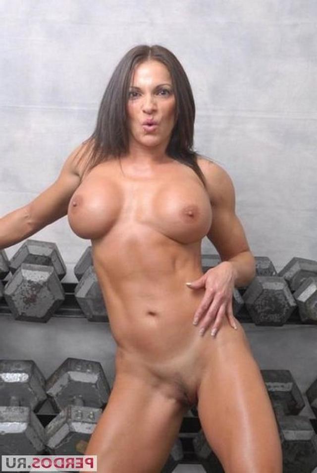Подборка голых женщин бодибилдерш 14 фото
