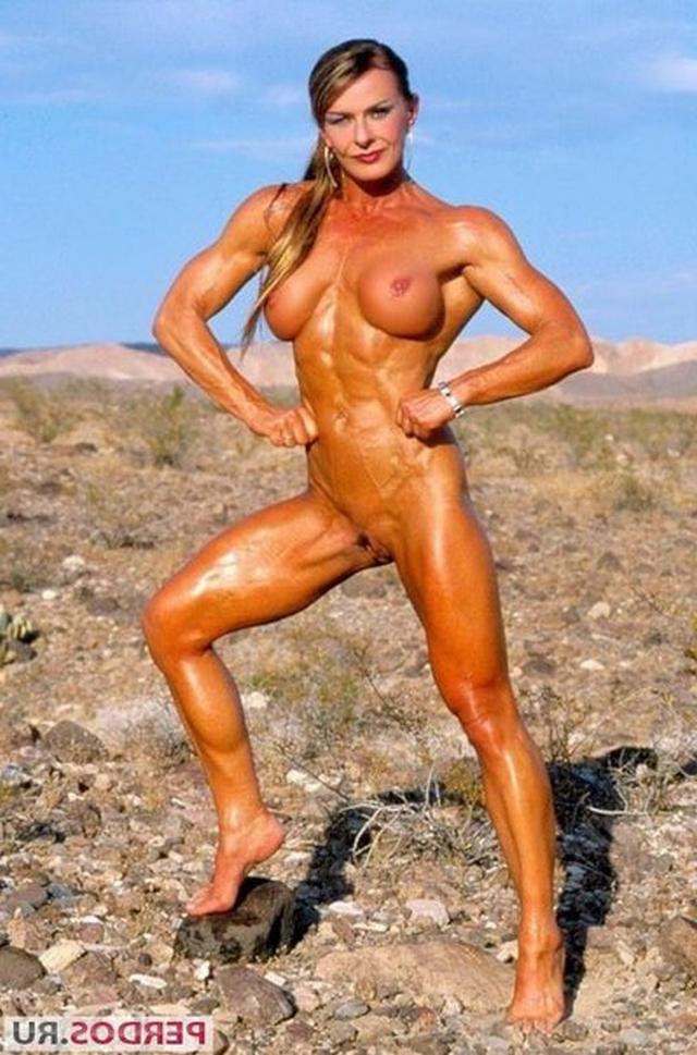 Подборка голых женщин бодибилдерш 6 фото