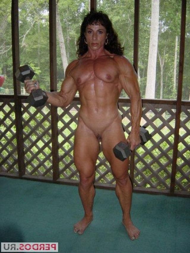 Подборка голых женщин бодибилдерш 2 фото