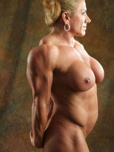 Подборка голых женщин бодибилдерш