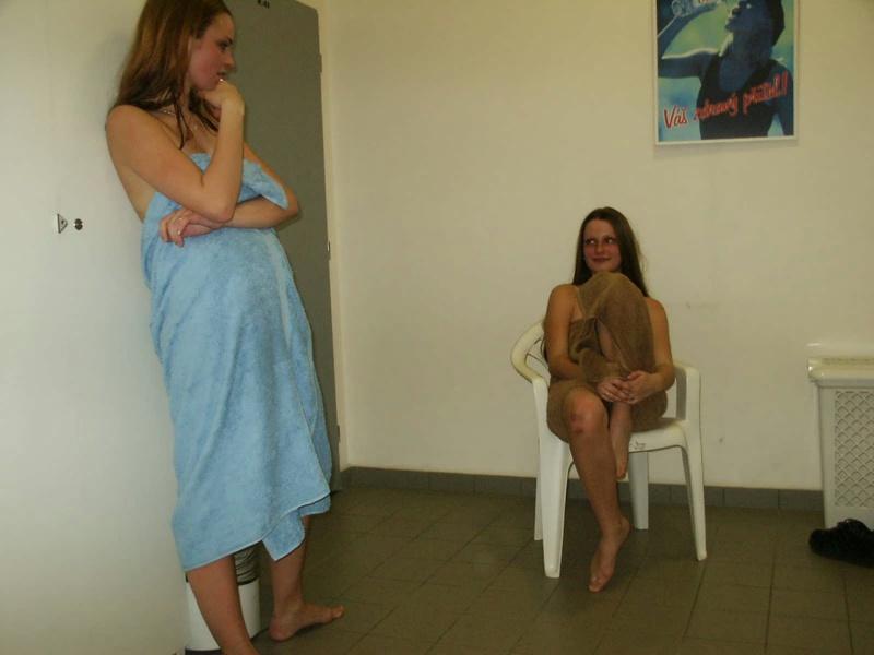 Сисястые русские бабы отдыхают в бане 3 фото
