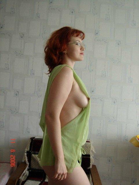 Рыжая стерва не отказывается от секса и позерства 7 фото