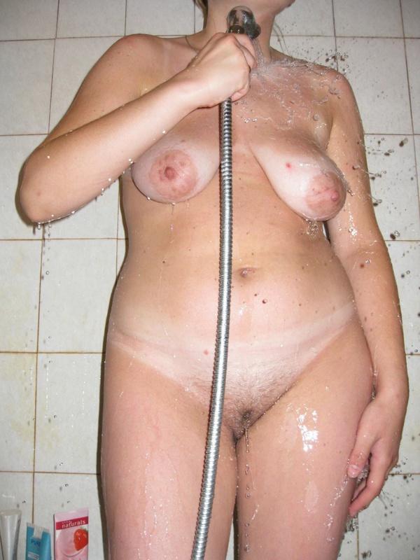 Русская пышка принимает душ при муже в первый день после свадьбы 8 фото