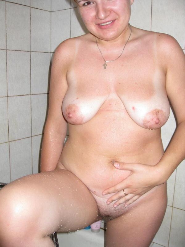Русская пышка принимает душ при муже в первый день после свадьбы 10 фото