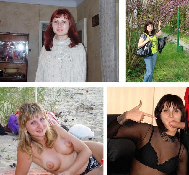 Набор фото голых и в одежде 6 фото
