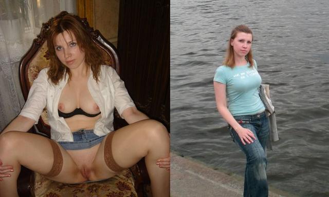 Набор фото голых и в одежде 24 фото