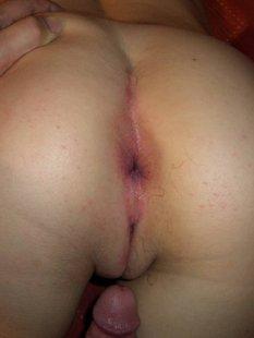 Жена подставила вульву и получила сперму на личико
