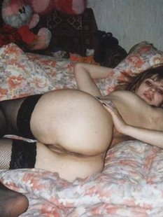 Эротическая подборка ретро снимков голых девиц