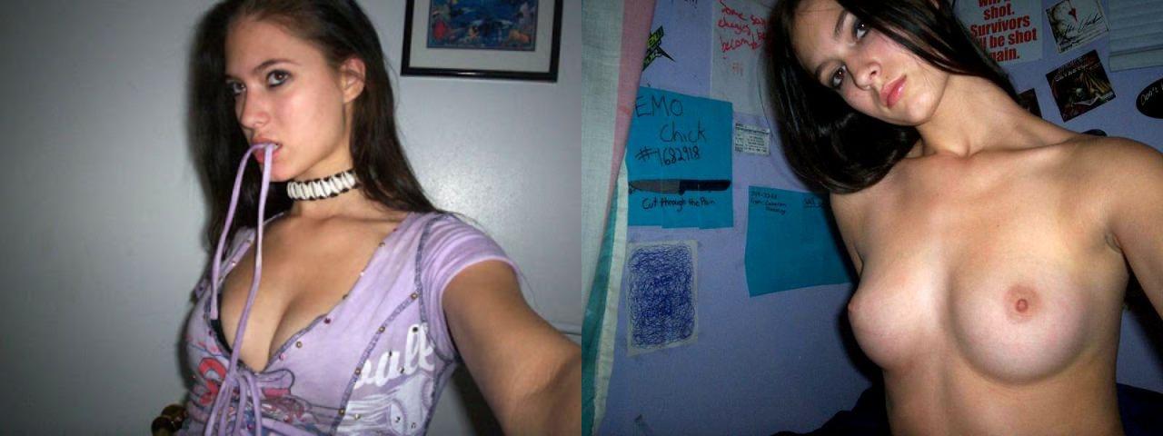 Молодые девахи выложили свою обнаженку в сеть 14 фото