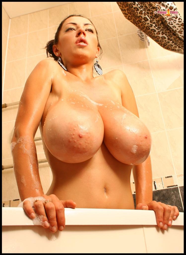 Снимки голых красоток с большими титьками 4 фото
